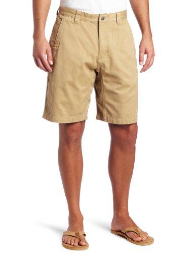 Mountain Khakis Men's Teton Twill Short Relaxed Fit, Retro Khaki, 33