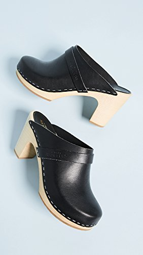 Black Women's Slip Clogs Classic swedish On hasbeens xCwzq5fB
