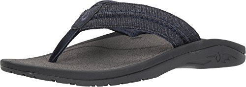 OLUKAI Men's Hokua Mesh Night/Charcoal 12 D -