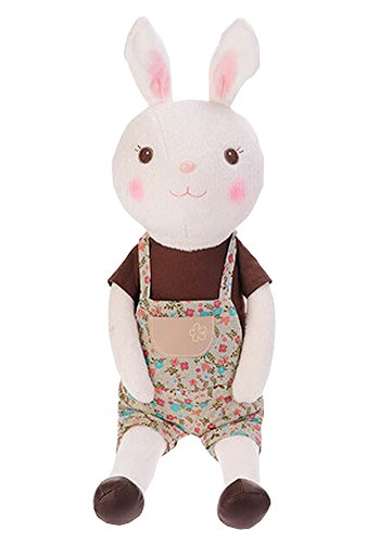 Alien Storehouse Decor Dolls Plush Rabbit Toy Animal Doll for Kids 60cm Height Brown by Alien Storehouse