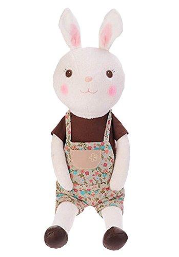 Alien Storehouse Decor Dolls Plush Rabbit Toy Animal Doll for Kids 60cm Height Brown by Alien Storehouse