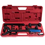 SCITOO Fit VW Audi FSI V6 3.2L Engines Camshaft Crankshaft Alignment Timing Locking Tool Kit Timing Chain Tensioner Pin Wrench