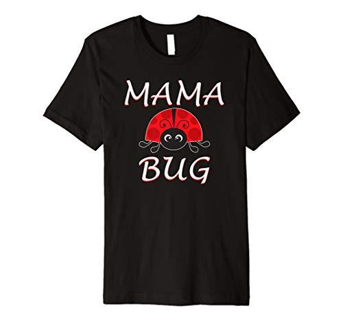 Mama Bug Ladybug Mom T Shirt