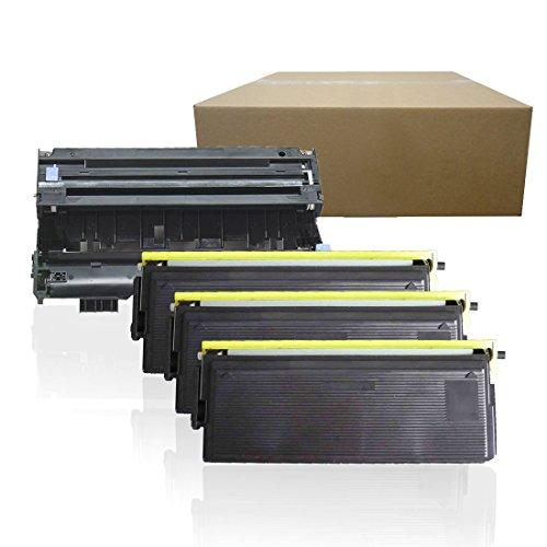 (Inktoneram Compatible Toner Cartridges & Drum Replacement for Brother TN460 TN430 DR400 DR-400 TN-460 TN-430 HL-1030 HL-1230 HL-1240 HL-1250 HL-1270N HL-1435 HL-1440 HL-1450 HL1470N (Drum,3-Toner,4PK))