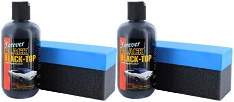 1c86be9352 Amazon.com  Forever Car Care Products FB813 BLACK Black Top Gel and Foam  Applicator (2 PACK)  Automotive