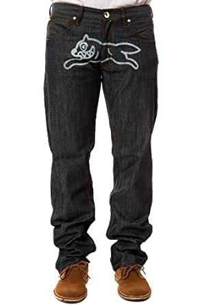 Ice Cream Men S Running Dog Jeans 38 Raw Indigo At Amazon