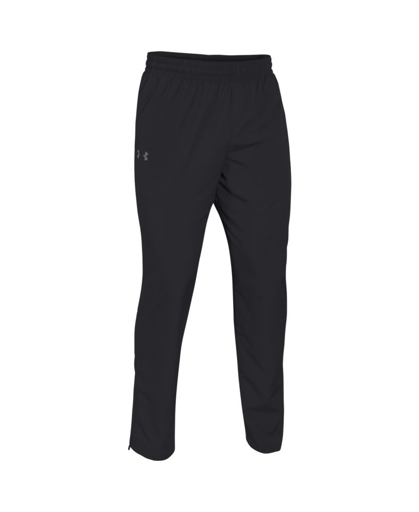 Under Armour Men's Vital Warm-Up Pants, Black /Graphite, Large by Under Armour (Image #4)