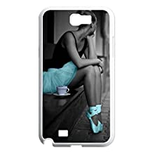 Hard Back Cover Shell Phone Case Christmas tree Case For Samsung Galaxy Note 2 N7100