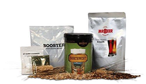 Mr. Beer Klondike Gold Homebrewing Beer Refill Kit - Pale Ale Refill