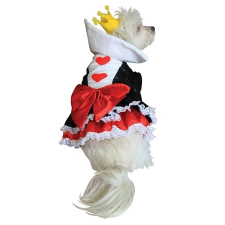 Anit Accessories Queen of Hearts Lovable Comfortable Pet Puppy Dog House Cat Apparel Gift Costume Large ()