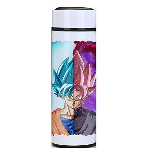 Water Bottle Vacuum Insulated Stainless Steel Dragon Ball Z Bottle Students Sports Travel Bottle (Dragon ball 2, 500ML) (Ball Water Dragon Bottle Z)