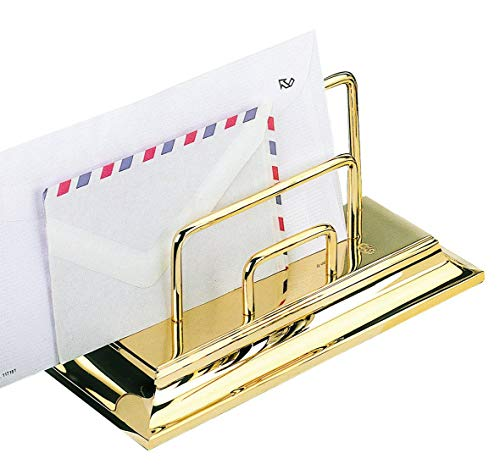 EL CASCO M672L Gold Plated Letter Holder