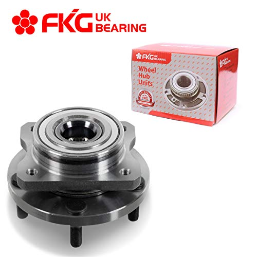 "FKG 513123 (ONLY for 15"", 16"" OR 17"" Wheels) Front Wheel Bearing Hub Assembly for 96-07 Chrysler Town & Country Dodge Caravan, 96-00 Plymouth Voyager, 00-03 Chrysler Voyager, 5 Lugs"