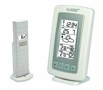 La Crosse Technology WS7027 Station Météo températures Intérieur Extérieur  - Blanc 8675e241ed6c