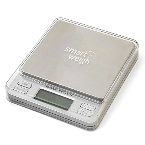 Smart weigh digital pro pocket scale with back lit lcd for Perfect kitchen pro smart scale