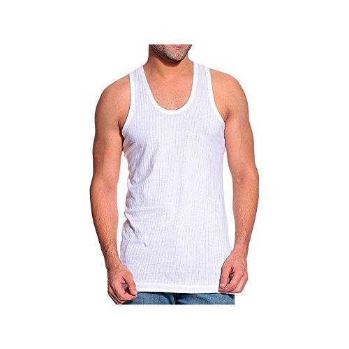 Digsel Men #39;s Cotton Blend Vest  Digsel_11_White_XX Large