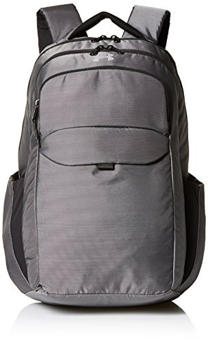 Under Armour Women's On Balance Backpack, Black/Silver, One Size [並行輸入品] B07F4BV21K