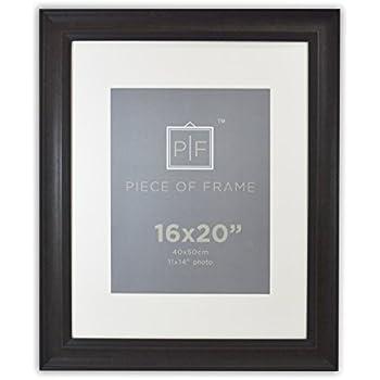 amazon com golden state art 16x20 wood grain finish photo frame