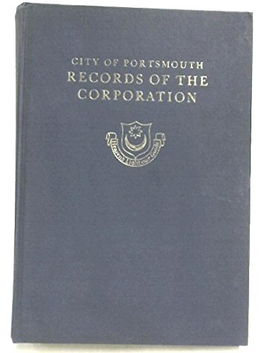 City of Portsmouth: Records of the Corporation, 1936-1945 (Portsmouth City Council)
