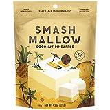 SmashMallow Snackable Marshmallows, Toasted Coconut Pineapple, 4.5 oz