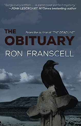 book cover of The Obituary