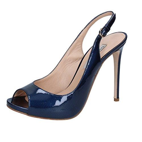 Femme Bleu Pour Sandales The Seller YxqCUU