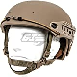 Lancer Tactical CA-761 CP AF Air Force Safety Airsoft Helmet (Tan)