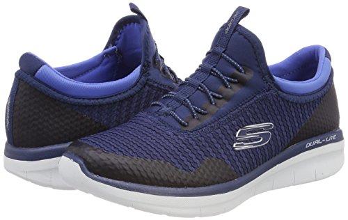 blue Women''s Blue Trainers 12386 On Slip Skechers navy xHwqFOPn0n