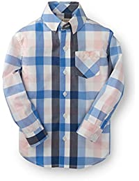 Boys' Poplin Button Down Made with Organic Cotton