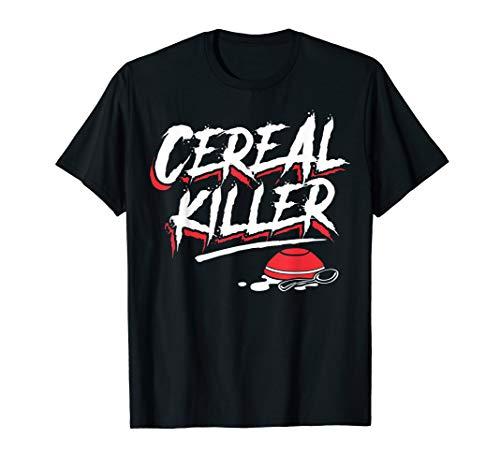 Funny Halloween Costume Shirt - Cereal Killer -