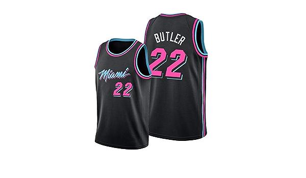 Miami Heat Jimmy-Butler # 22 - Camiseta de baloncesto para ...