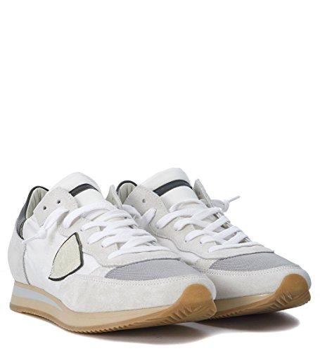Philippe Model Sneaker Tropez in Beige e Bianca Bianco Limpia Y Clásica Wg0v7