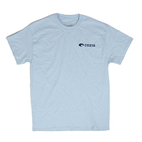 Costa Del Mar Mens First Light Short Sleeve T-Shirt