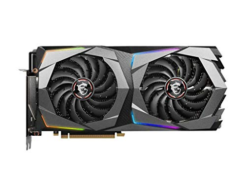 MSI Gaming GeForce RTX 2070 Super 8GB GDRR6 256-Bit HDMI/DP Nvlink Twin-Froze Turing Architecture Overclocked Graphics Card (RTX 2070 Super Gaming X)