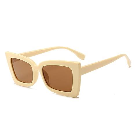 Yangjing-hl Gafas de Sol de Moda Caja de Tendencia Gafas de ...