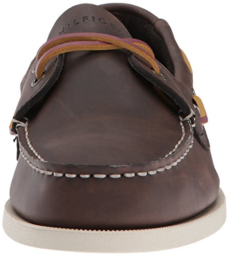 Tommy Hilfiger Men's Bowman Boat shoe,Coffe Bean,11 M US by Tommy Hilfiger (Image #4)