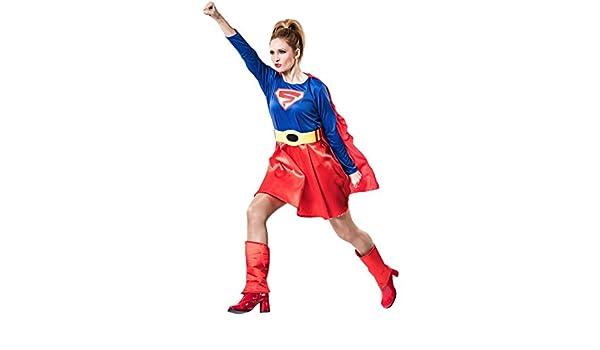 Disfraz de Súper Woman para mujer: Amazon.es: Juguetes y juegos
