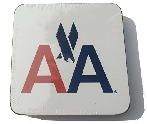Vintage American Airlines (American Airlines 1968 Logo Drink Coaster - Set of)