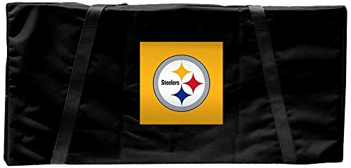 Pittsburgh Steelers NFL Regulation Cornhole Carrying Case