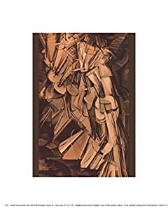 Nude Descending a Staircase, No. 2 - Poster by Marcel Duchamp (8 x 10)