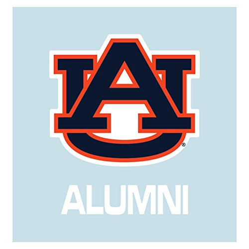 Auburn Tigers Decal ORG/BLU AU ALUMNI DECAL 5