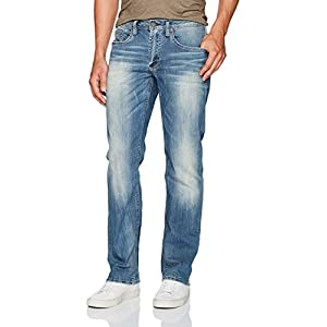 Men's Driven Relaxed Straight Fit Denim Pant