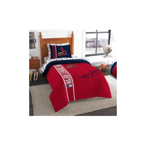 MLB St. Louis Cardinals Soft & Cozy 5-Piece Twin Size Bed in a Bag Set ()