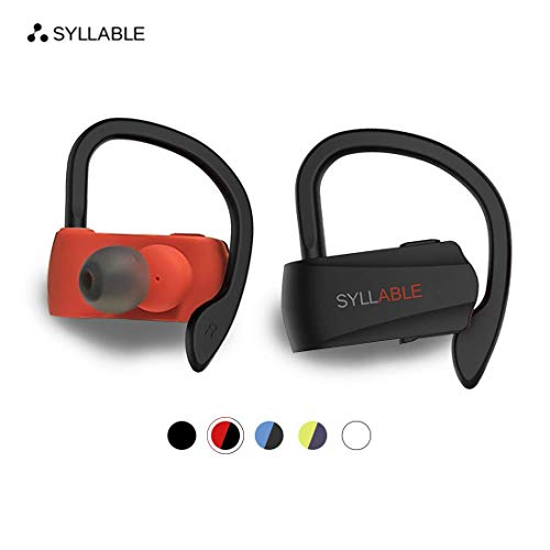 Syllable Bluetooth Headphones,Wireless Earbuds, HD Stereo Sound Wireless Headset Bluetooth 5.0,Real IPX5 Sweatproof for…
