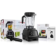 Vitamix 780 G-Series Next Generation Series Touchscreen Blender with 64-Ounce Container + Introduction to High Performance Blending Recipe Cookbook + Low-Profile Tamper by Vitamix