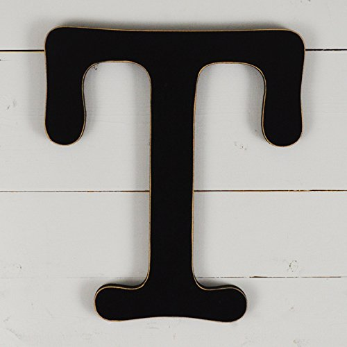 11.5'' Typewriter Wall Decor Letter ''T''- black