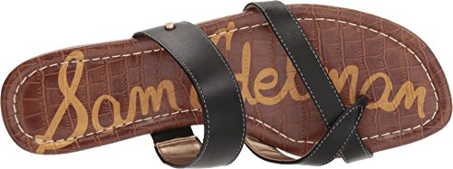 Sam Edelman Women's Bernice Slide Sandal Black Vaquero Saddle Leather free shipping for sale free shipping collections free shipping 2014 new yXzJAd1w