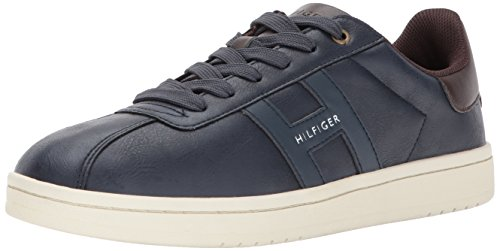 Tommy Hilfiger Mens Lyor Schoen, Marine, 7.5 Medium Us