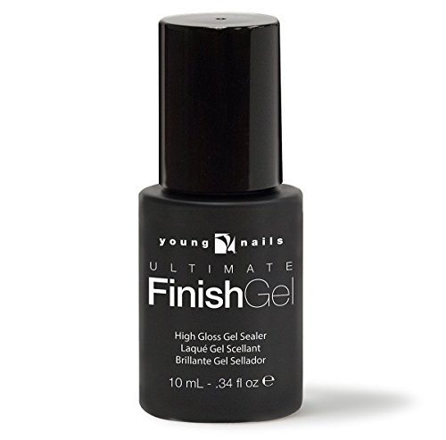 Young Nails Ultimate Finish Gel .34oz, 2 pack by Premiere Salon and Nail Supply