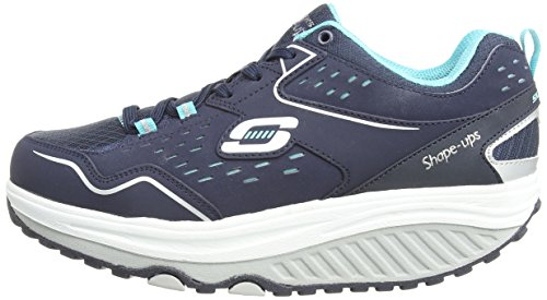 Sneaker 0 Skechers Donna nvlb ups nbsp;everyday 2 Blu Shape blau Comfort MffYSqZw